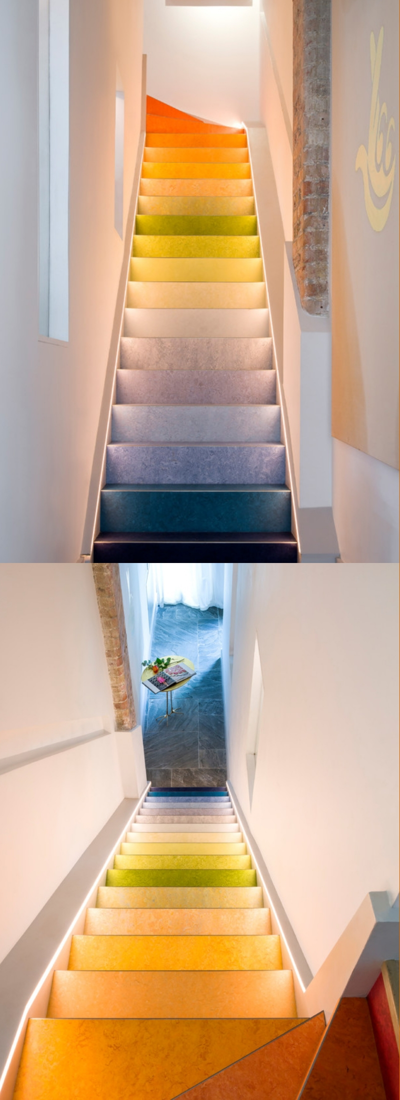 20 Painted Staircase Ideas Pictures Diy Paint A