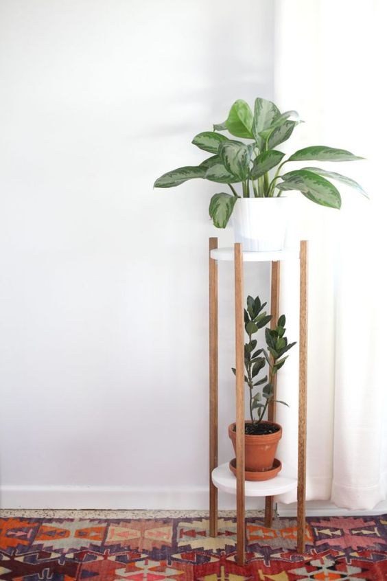 Modern Tiered Plant Stand