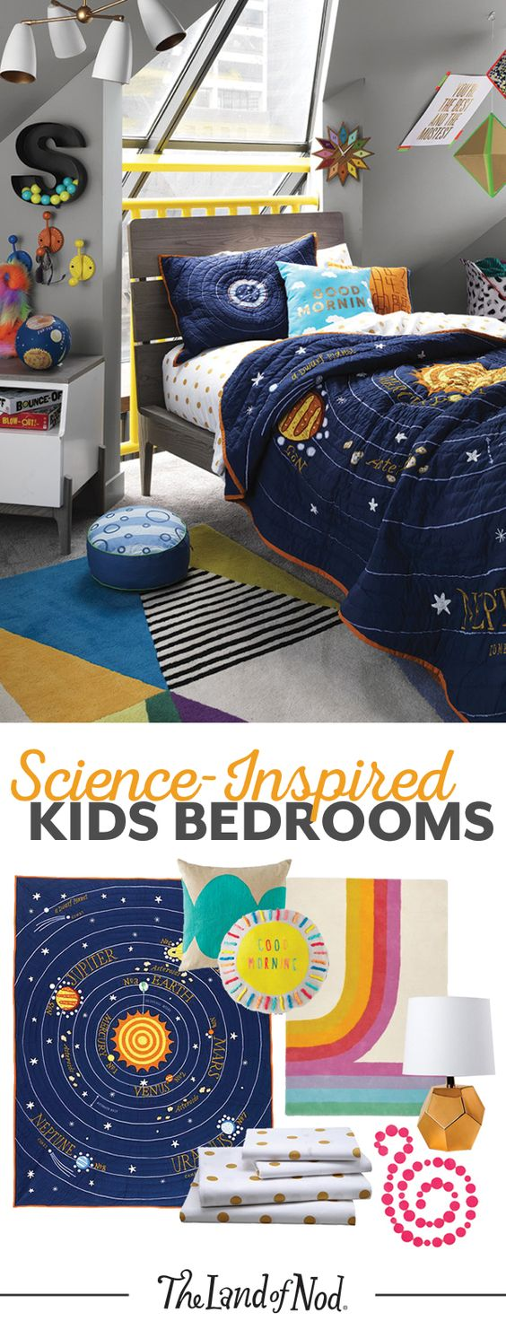 Solar System Bedroom Set