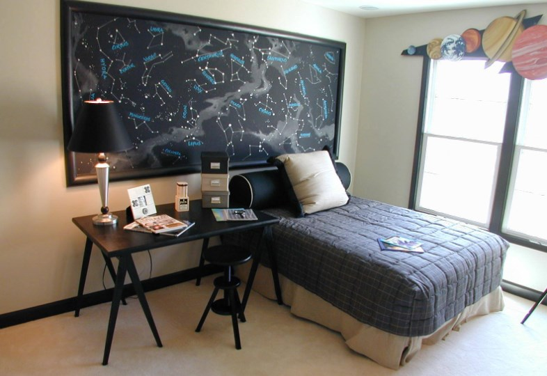 25 Cool and Attractive Space Theme Room for Boys and Girls