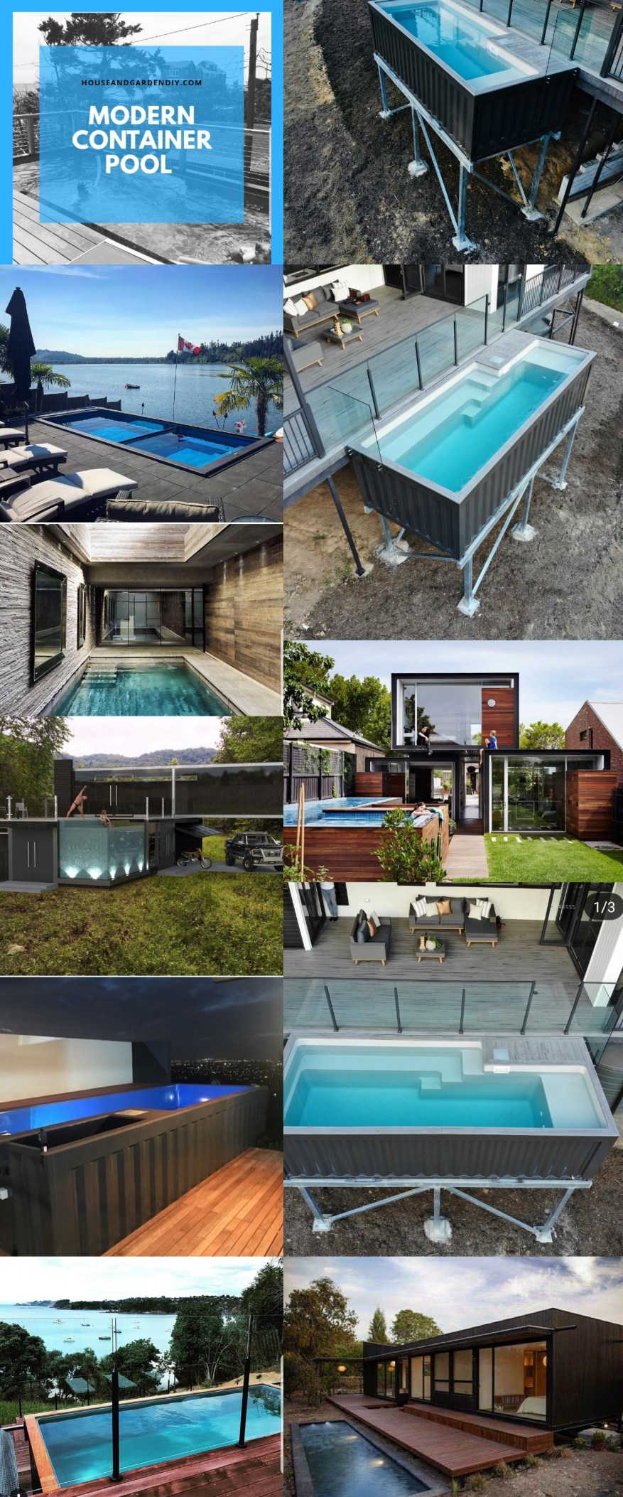 Container Pool House