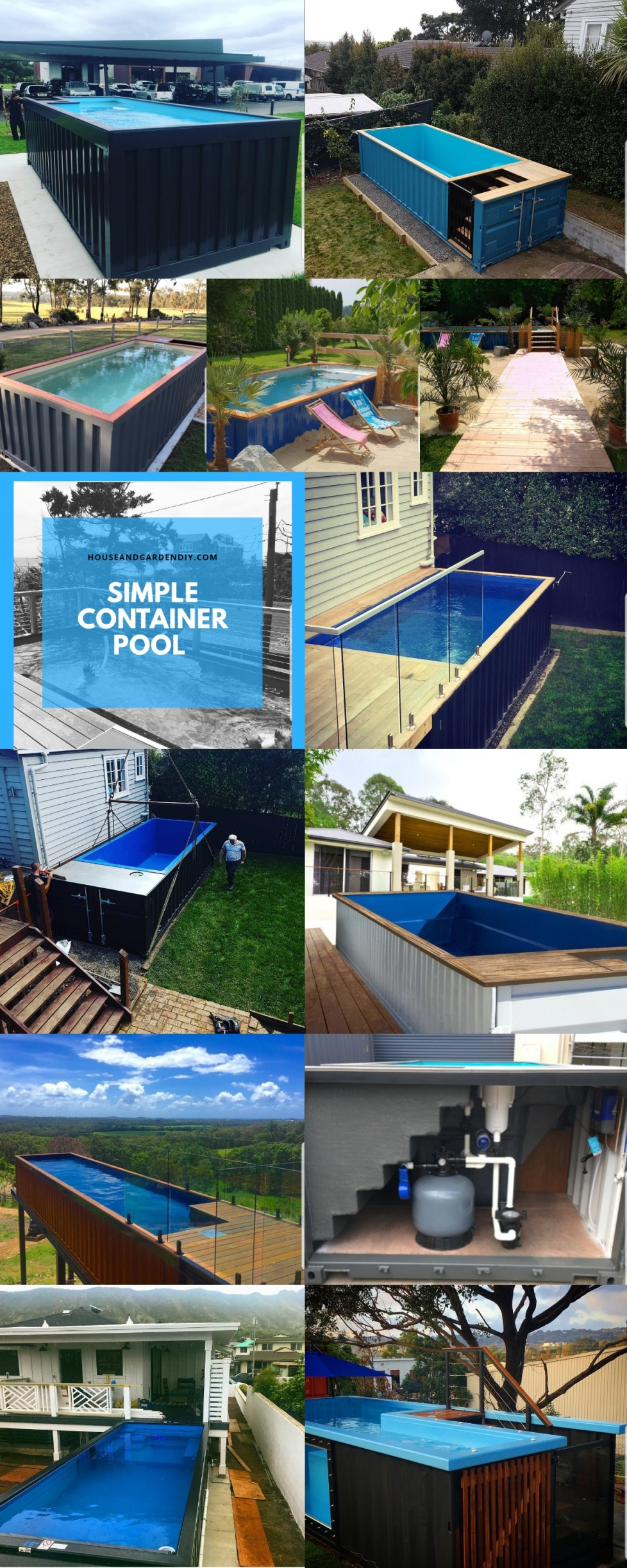 Simple Shipping Container Pool