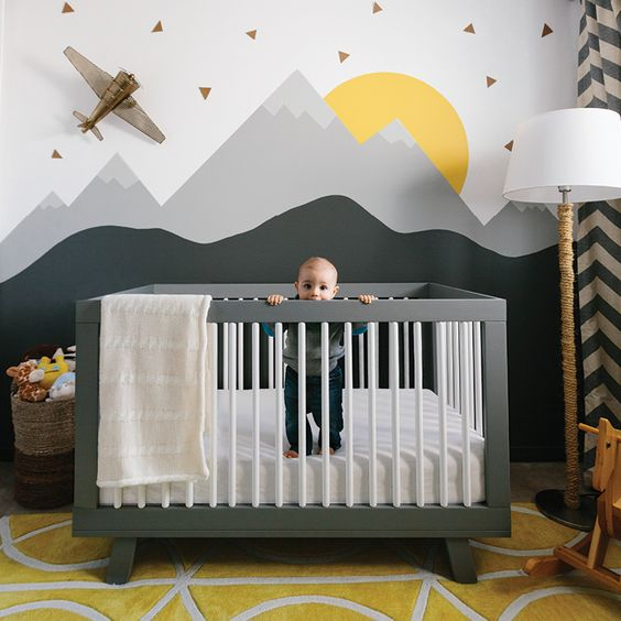 Tips For Decorating A Small Nursery: 20 Cute Baby Boy Room Ideas & Tips To Design