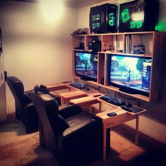 Couples Gaming Setup
