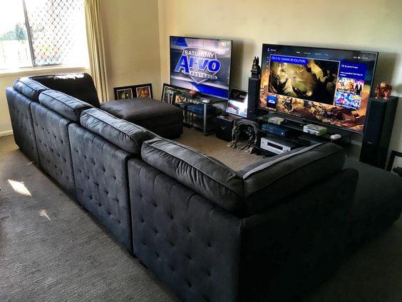Gaming Setup PS4