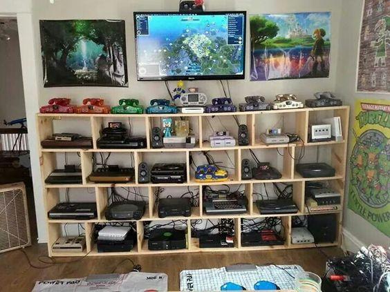 Retro Gaming Setup