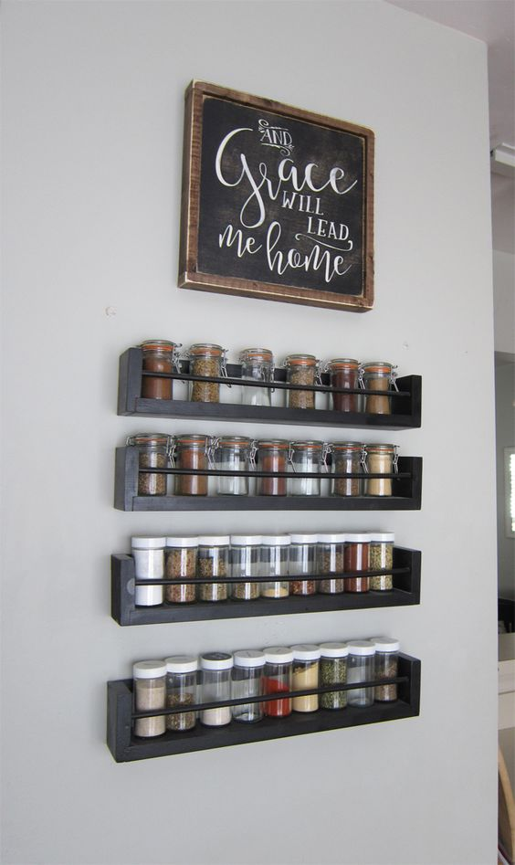 Wood Spice Rack Ideas