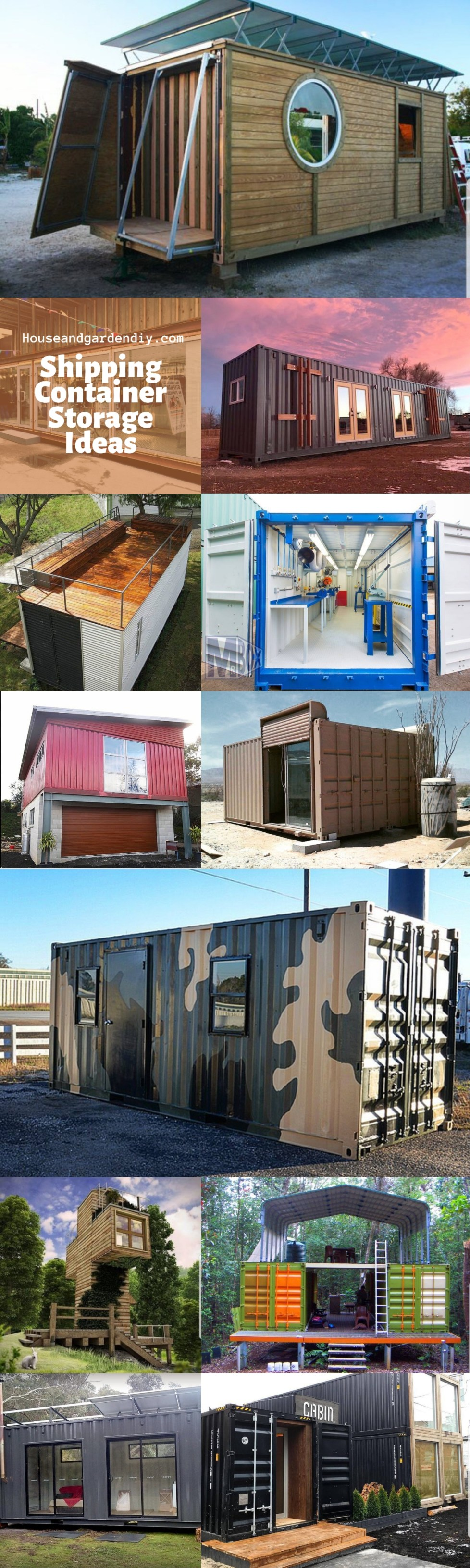 Shipping Container Storage Ideas