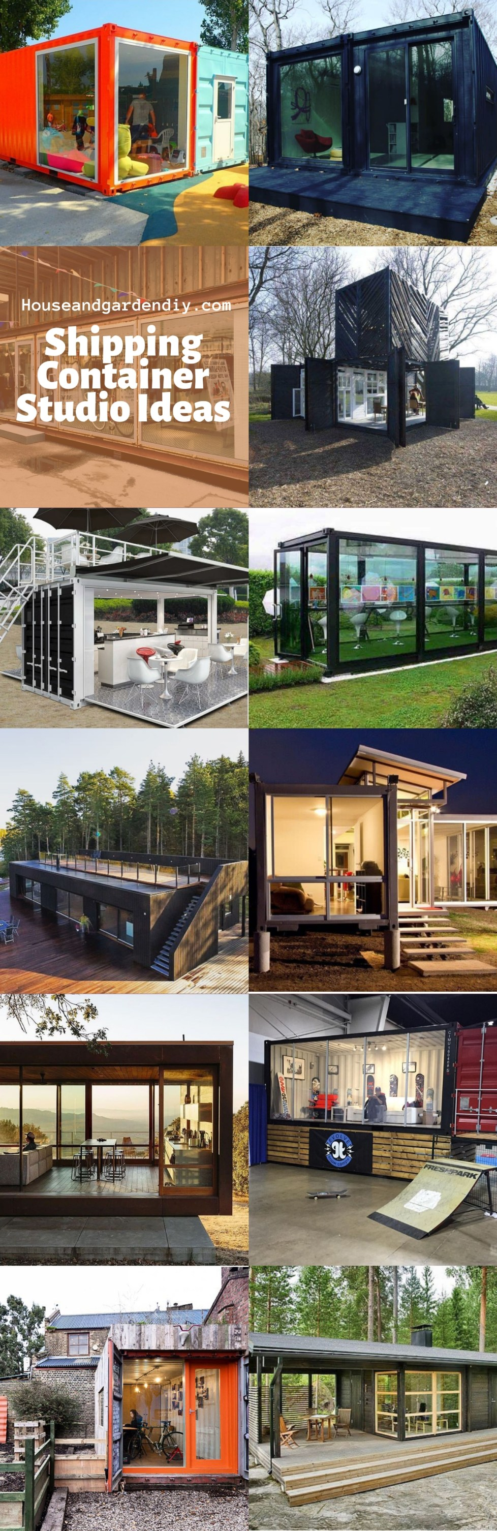 Shipping Container Studio Ideas
