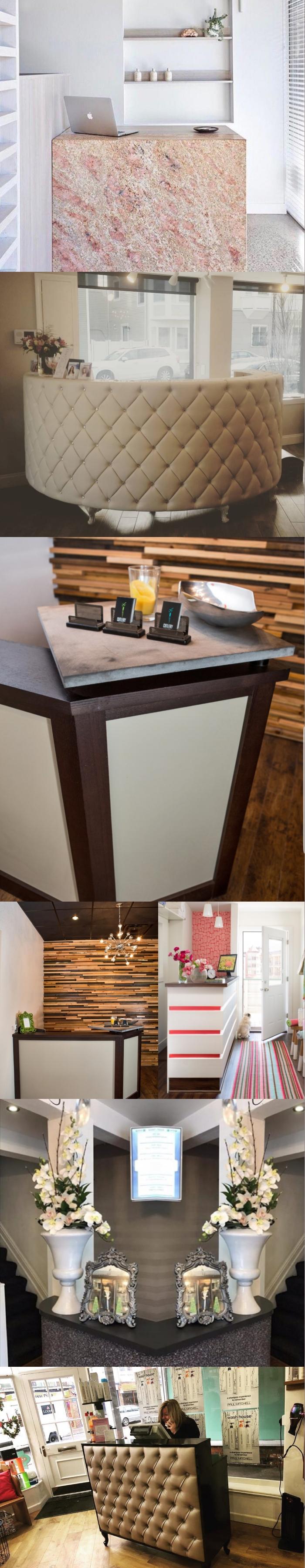 Salon Reception Desk Ideas