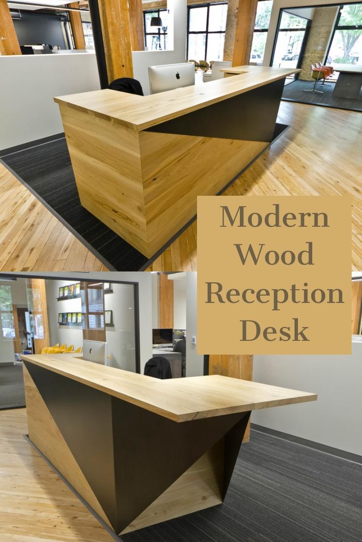 MOdern wood reception ideas