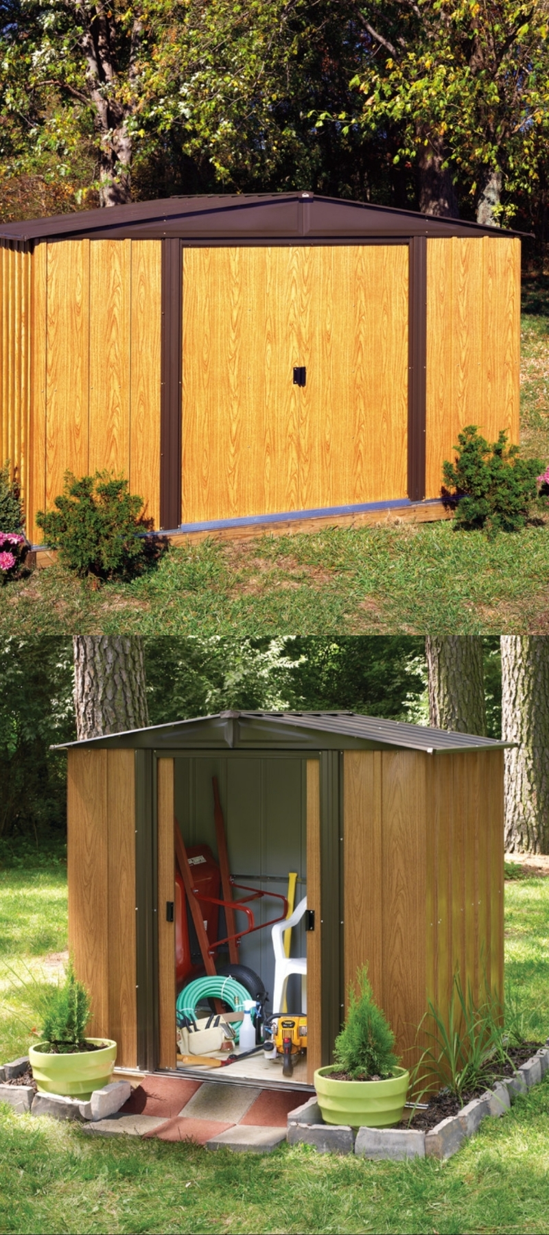 stylish storage sheds