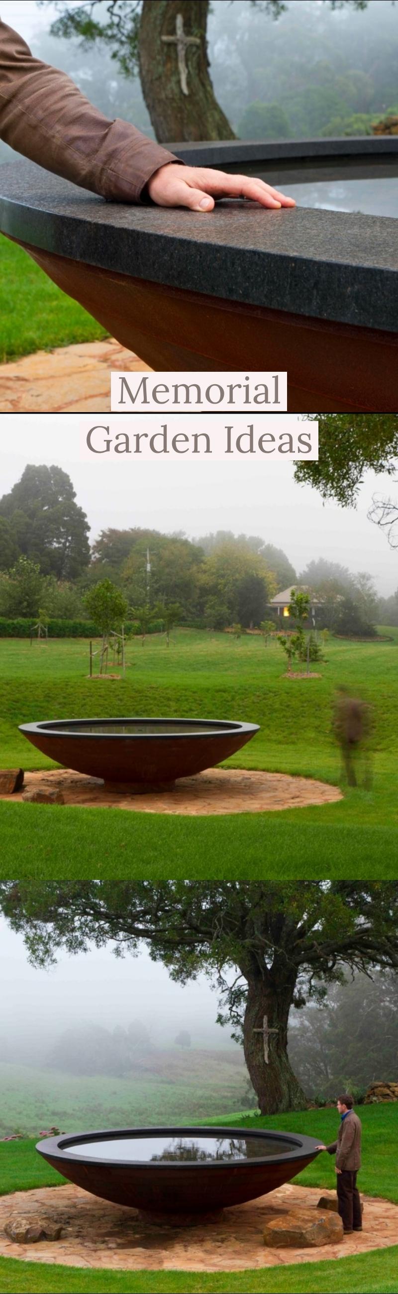 21+ Lovely Memorial Garden Ideas 2019 (Designs, Elements ...