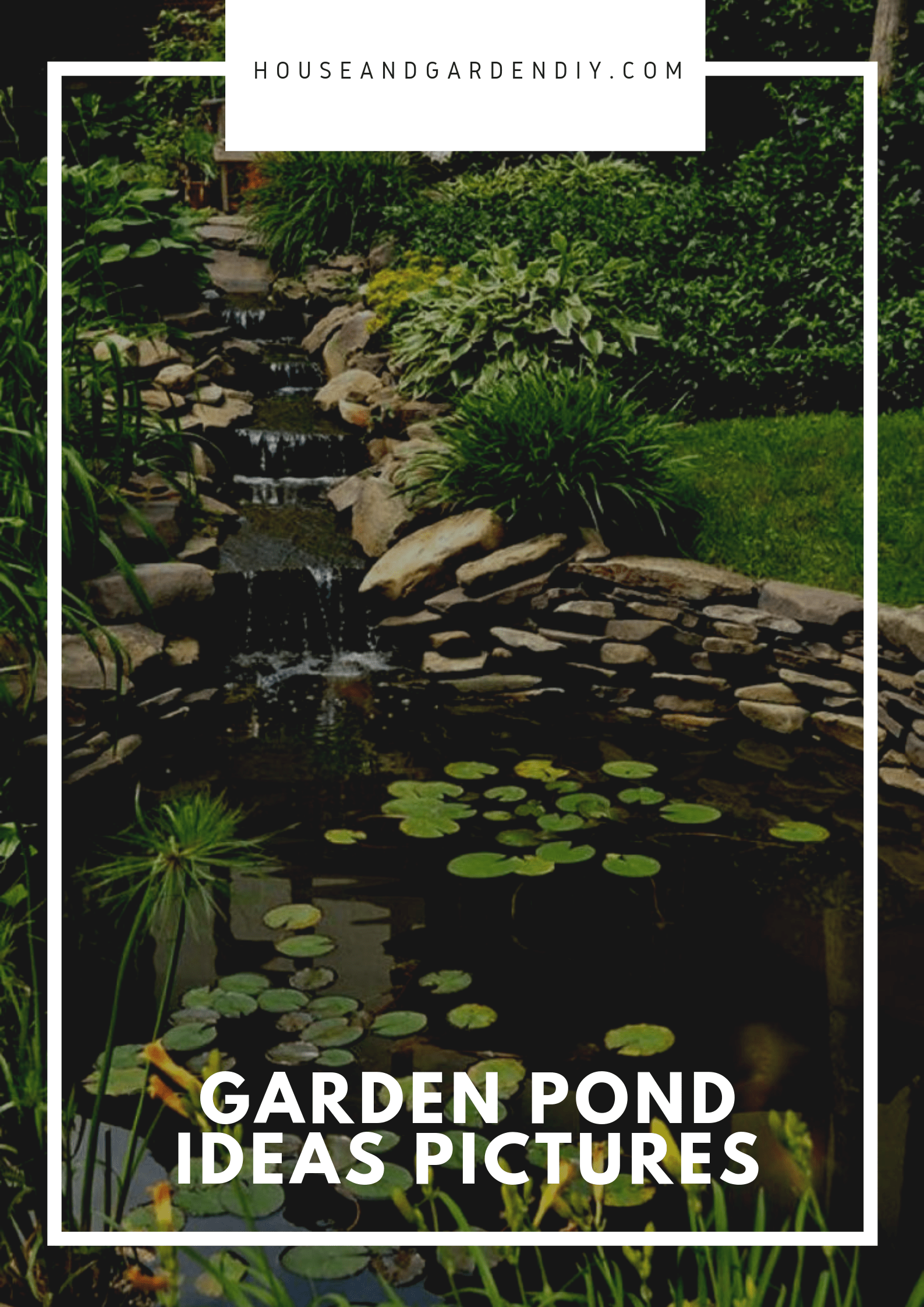 21+ Garden Pond Ideas (Benefits & How to Build a Small Pond