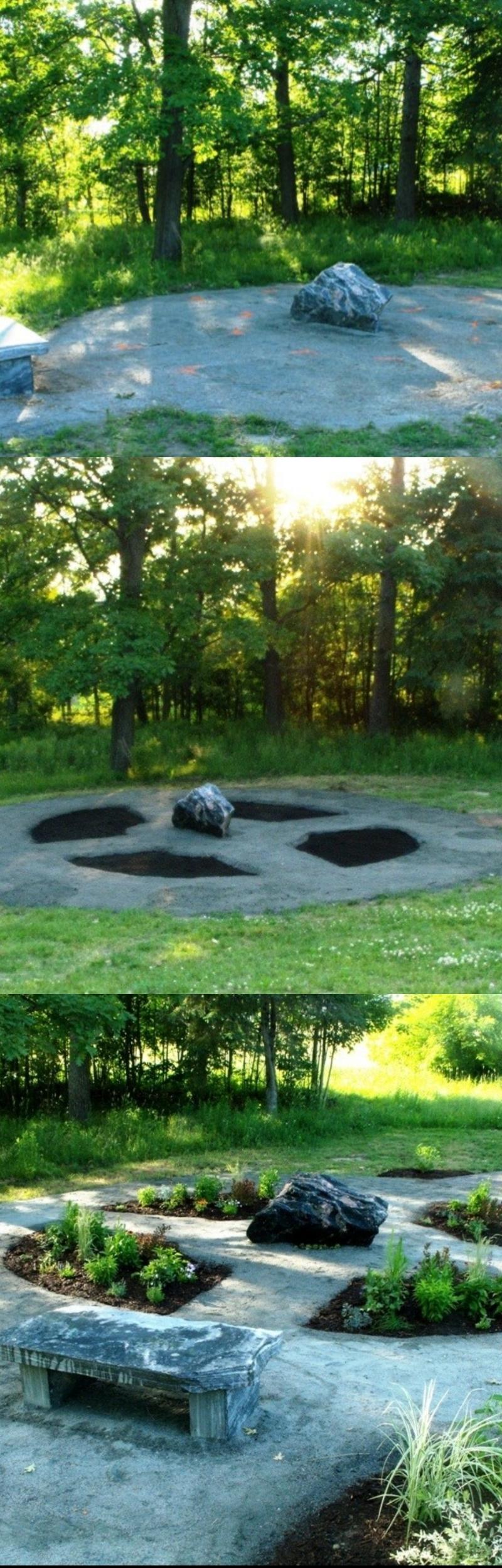 pictures of memorial gardens