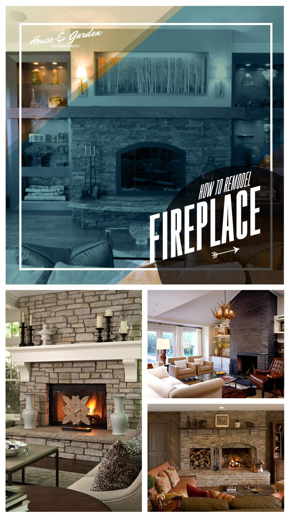 How to Remodel Your Fireplace - Tips to Remodel