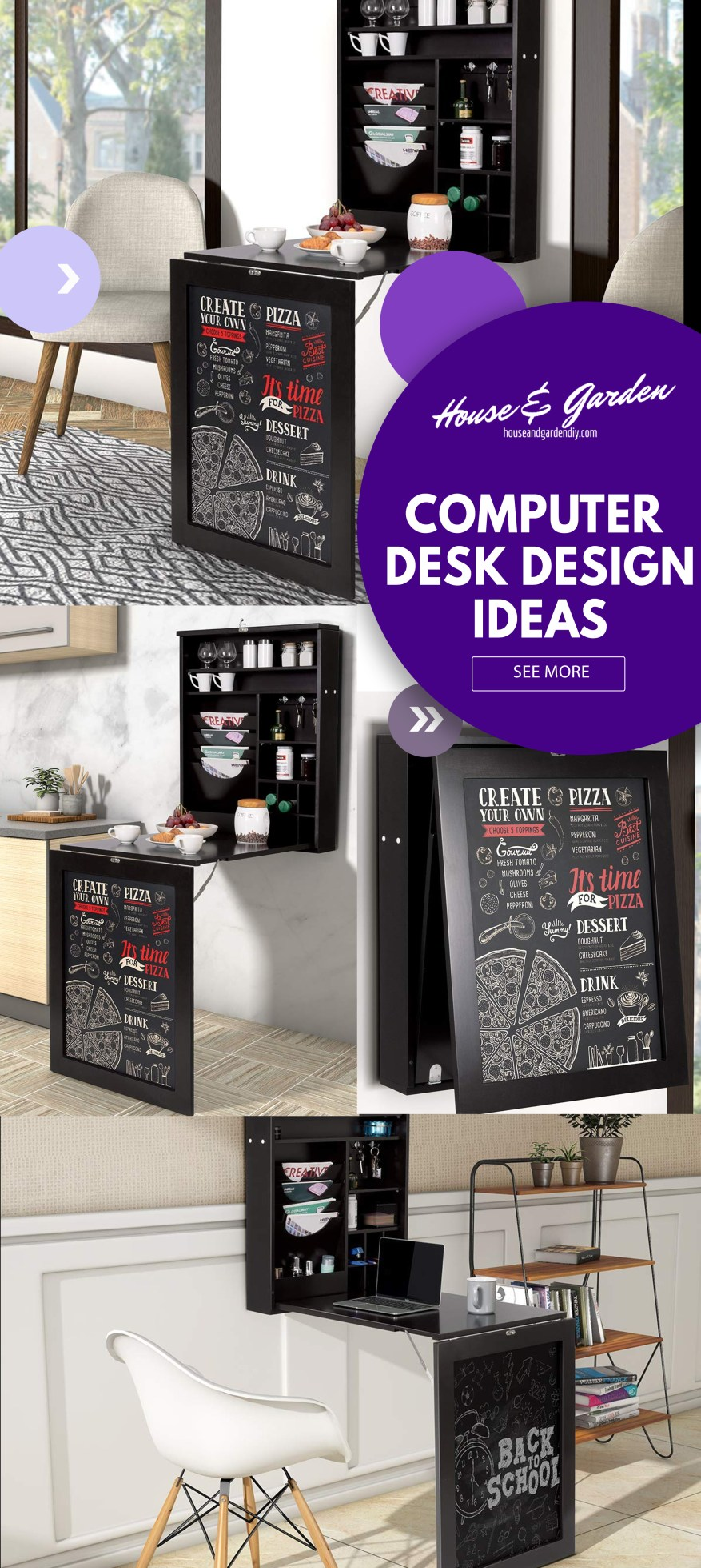 cheap computer desk ideas
