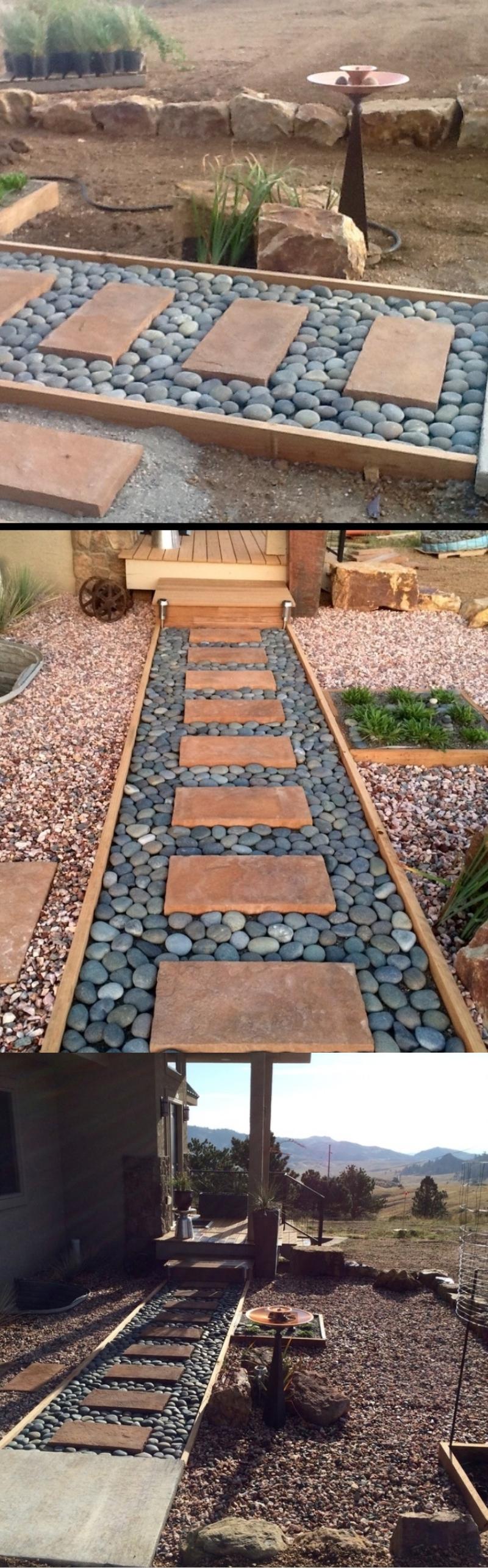 nexpensive walkway pavers