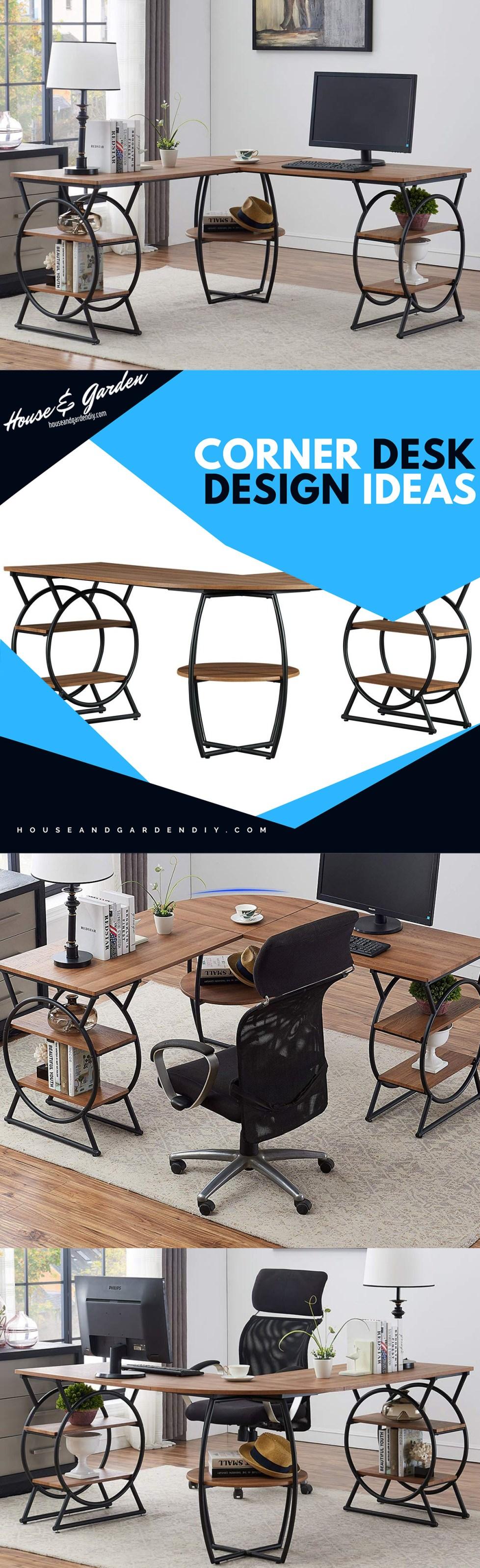 corner office desk ideas