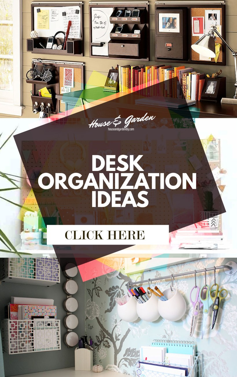 ideas for office organization at work