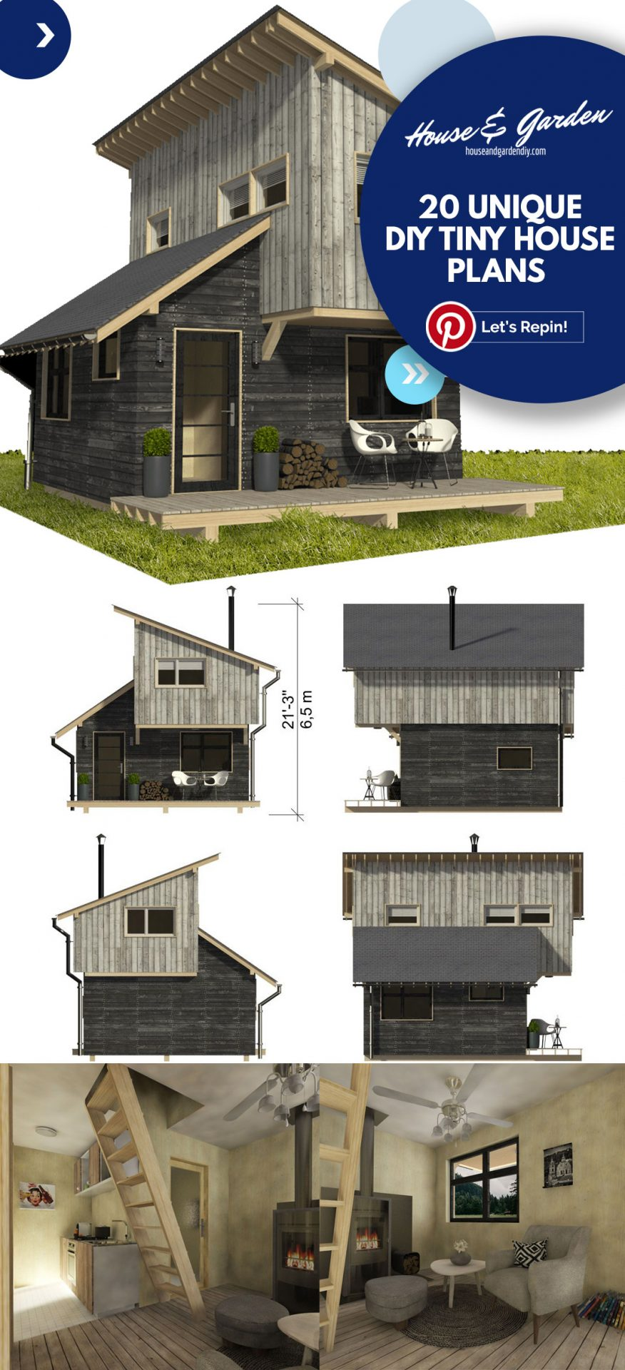 tiny house plans on trailer