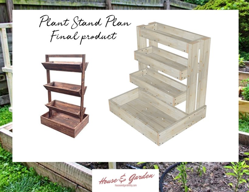 plant stand woodwrking plan