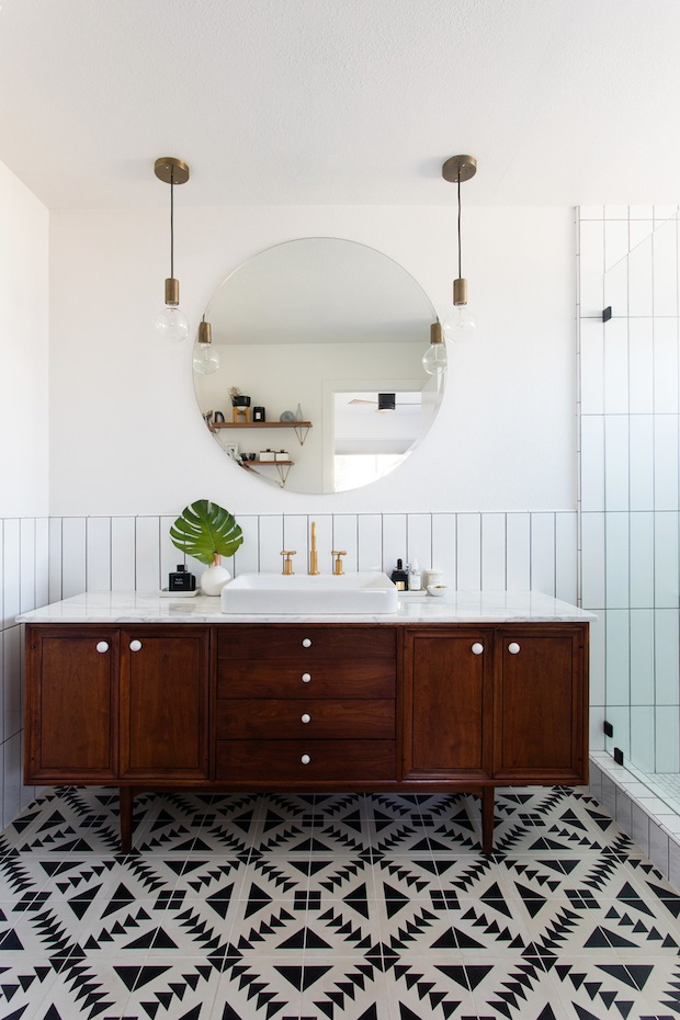 vertical tile is the new kitchen bathroom trend you need to know about house home