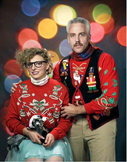 Weird Family Christmas Photos That are Really Just Wins