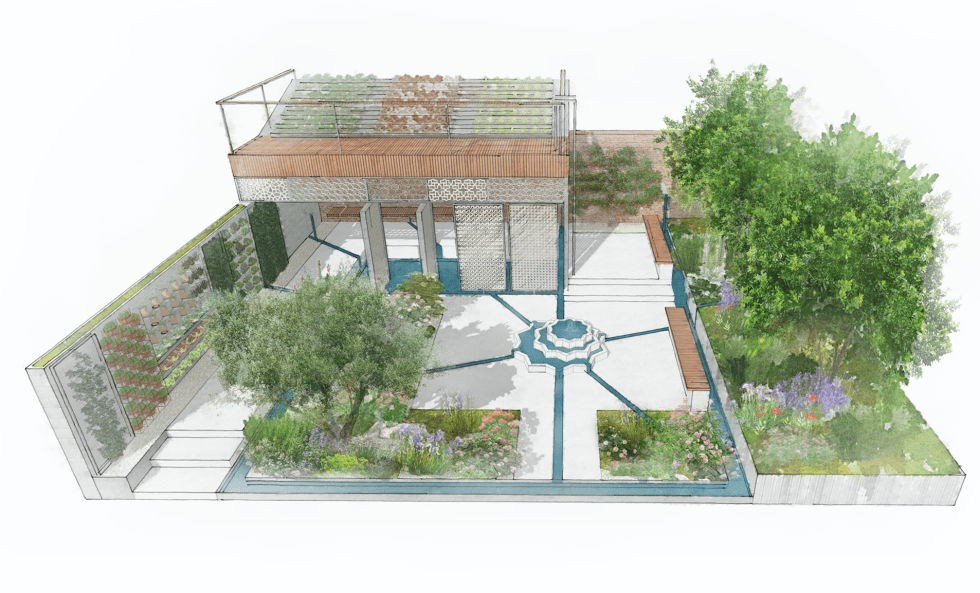The Lemon Tree Trust Garden - Chelsea Flower Show 2018