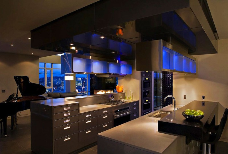 Modern Kitchen Island Design Ideas