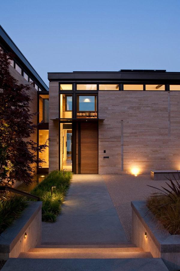 Amazing Modern Home Design In H Shape House By Stuart Silk