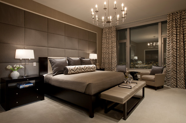Exotic Apartment Bedroom Ideas In Contemporary Style In