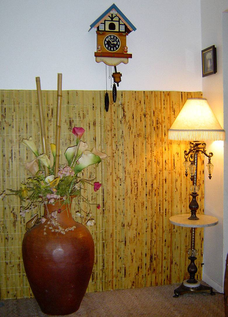 Attractive Bamboo Wall Panels As Eco Friendly Decoration
