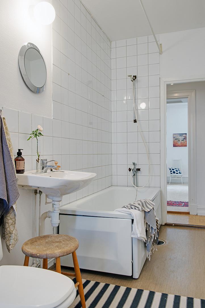 Stylish Swedish Interior Style Applying Wooden Furniture