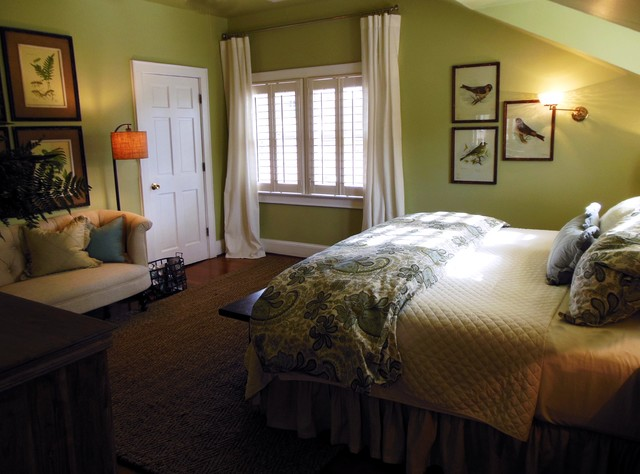 Cozy Green Bedroom Ideas For Natural Shades HouseBeauty