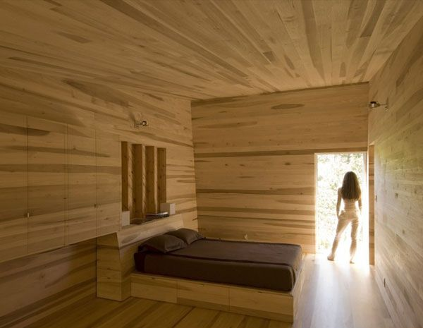 Warm Cabin House Design For Memorable Vacation With Your