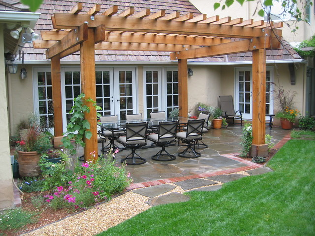 Natural Patio Pergola In Gorgeous Design Beautifies Your
