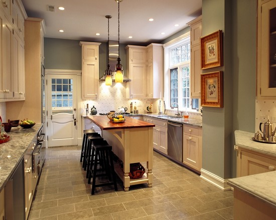 Ideas Layout Design Kitchen Small
