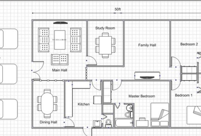 Draw Bathroom Floor Plan Online