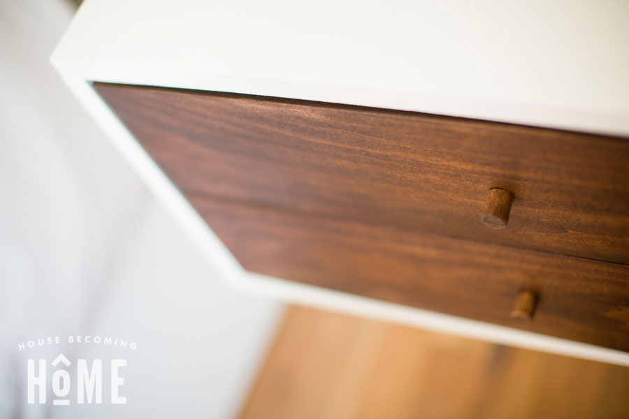 small drawer knobs made from dowel