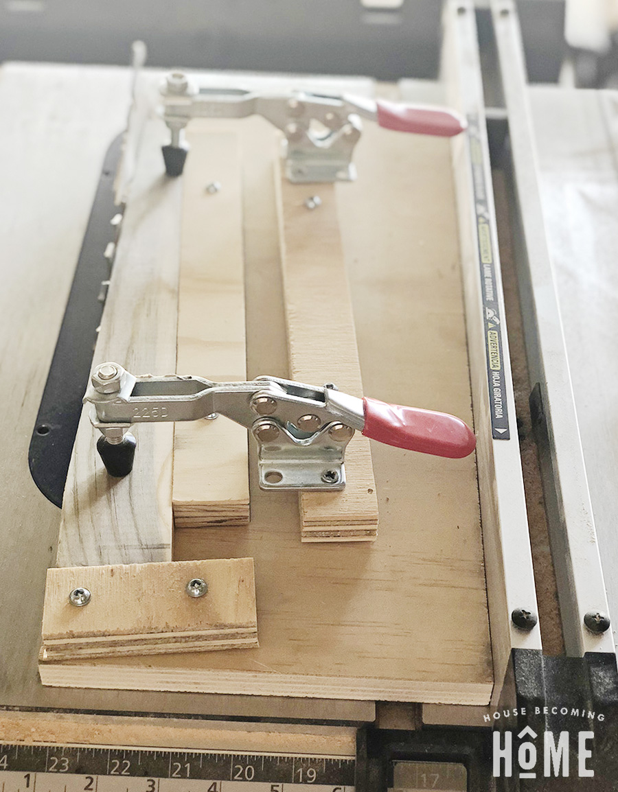 Simple DIY Taper Wood Jig
