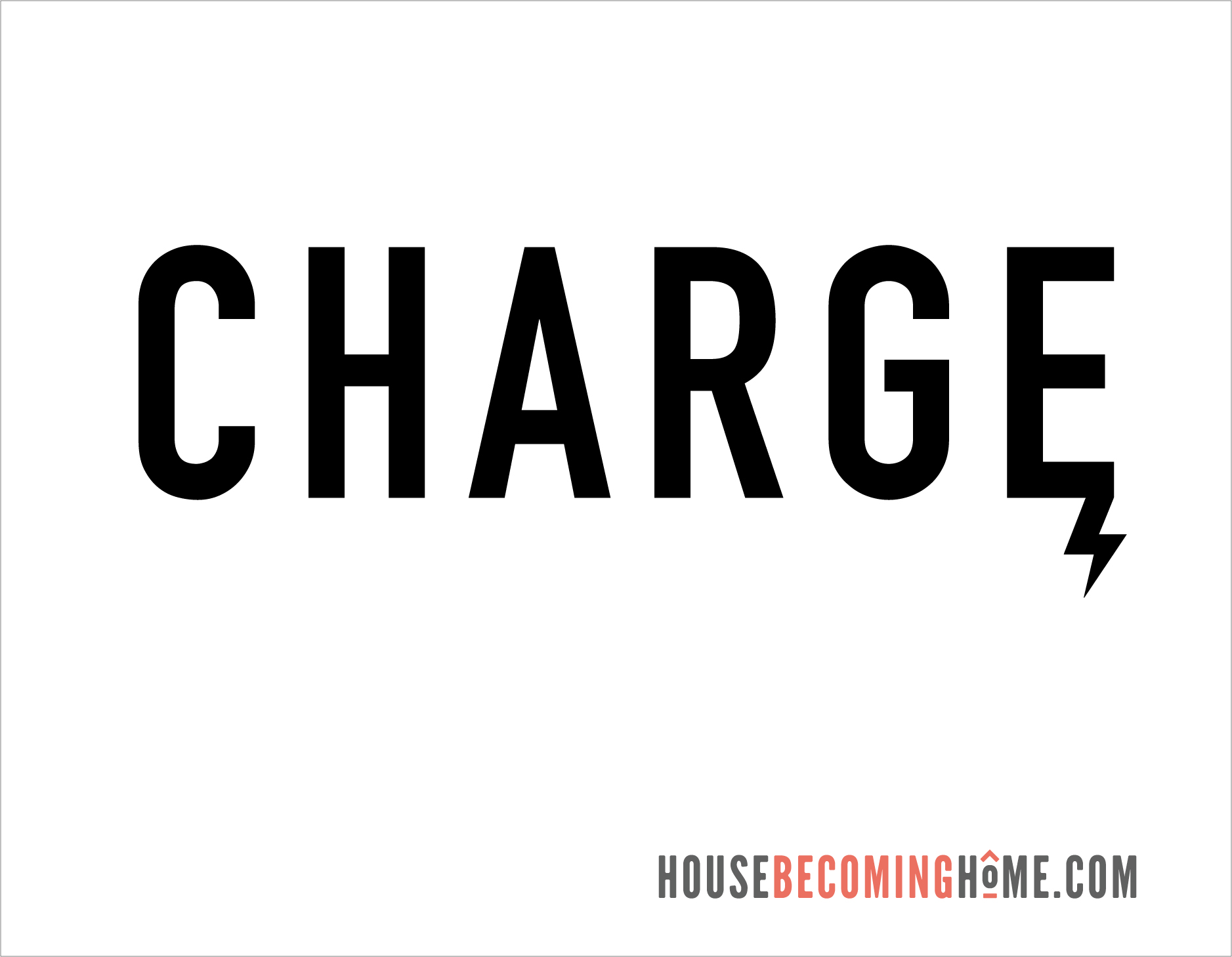 Charge Icon for Modern Phone Charging Station