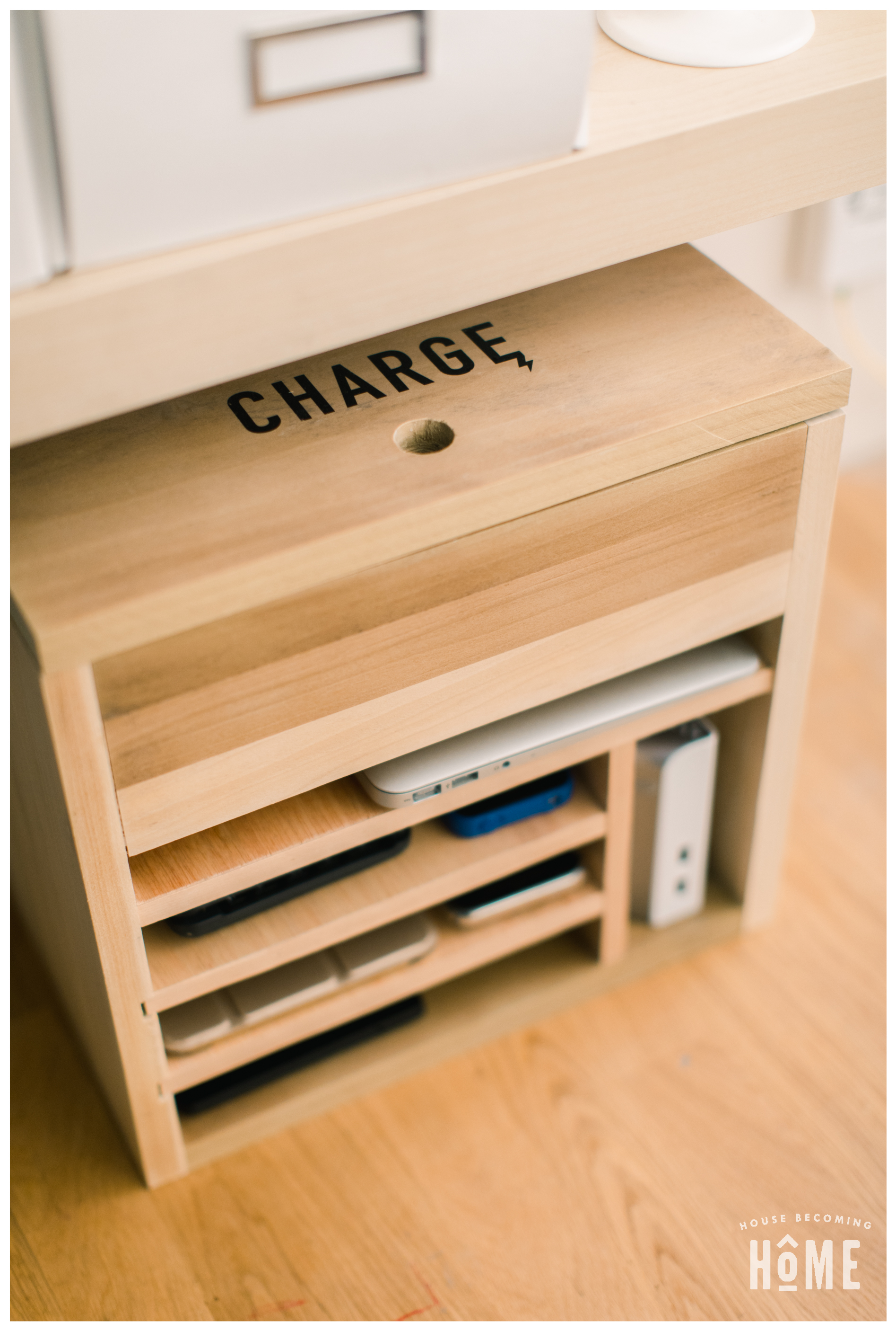 DIY Charging Station with Power Strip and USB Hub