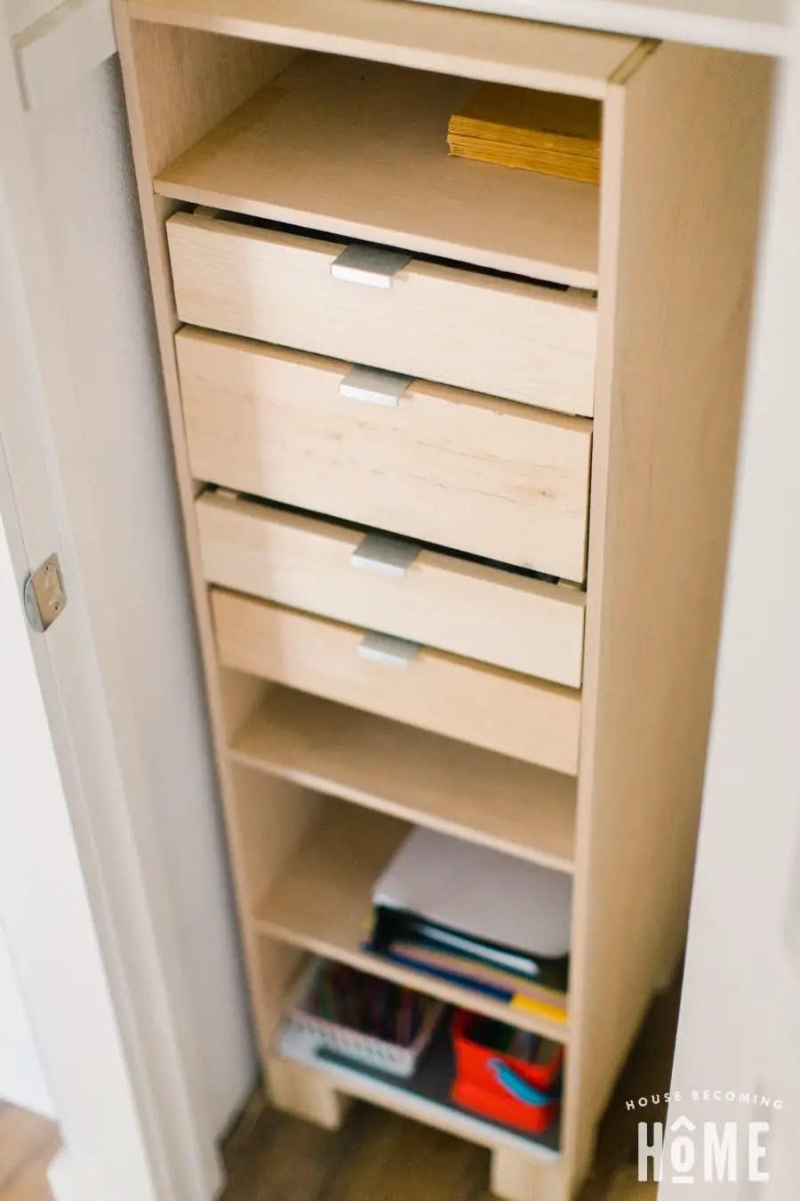 Diy Closet Organization House Becoming Home