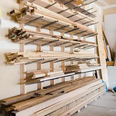simple diy lumber rack house becoming