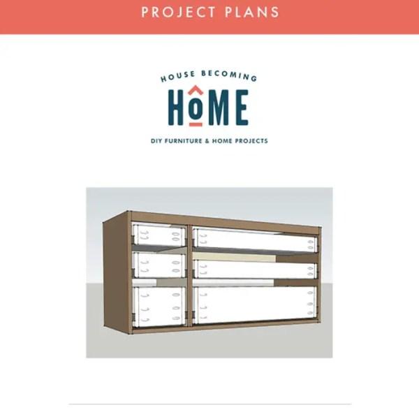 Floating Vanity Plans Printable PDF - Vanity Plans perfectly fit the Ikea Odensvik Sink