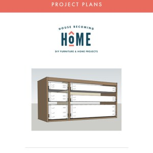Floating Vanity Plans Printable PDF - Vanity Plans perfectly fit the Ikea Odensvik Sink