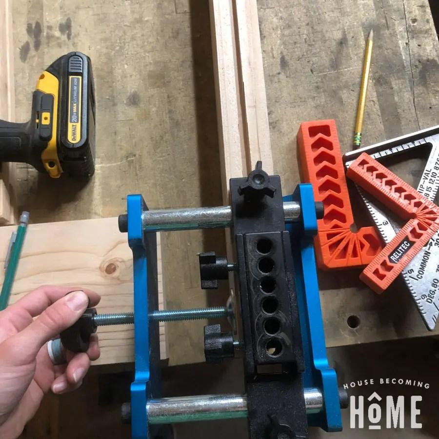 Rockler Beadlock Pro door Making