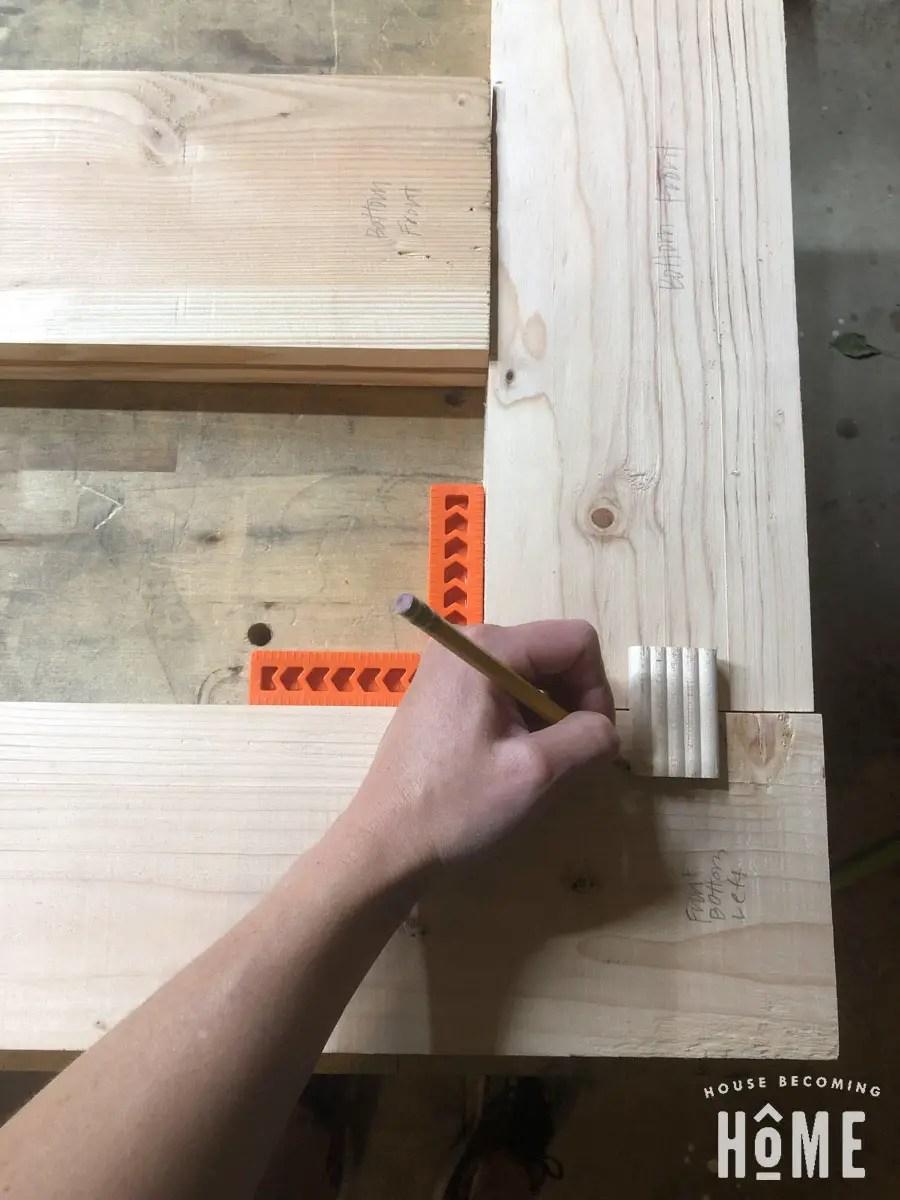 Beadlock Joinery Layout