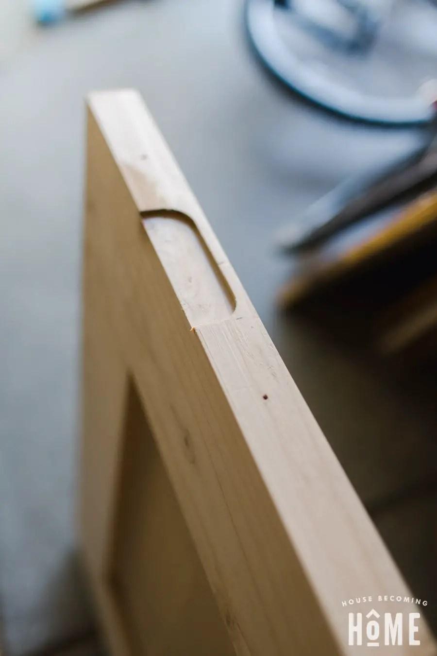 Making Hinge Mortise DIY Door